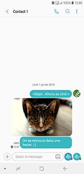 Samsung Galaxy J6 - Contact, Appels, SMS/MMS - Envoyer un MMS - Étape 21
