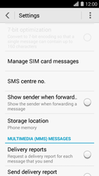 Huawei Ascend Y550 - SMS - Manual configuration - Step 7