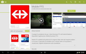Sony Xperia Tablet Z LTE - Applicazioni - Installazione delle applicazioni - Fase 21