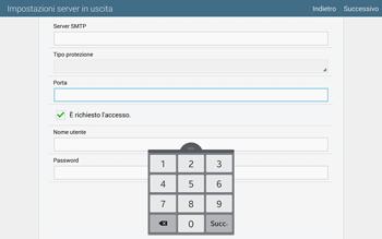 Samsung T805 Galaxy Tab S - E-mail - configurazione manuale - Fase 13