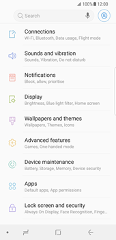 Samsung Galaxy S8 - Android Oreo - MMS - Manual configuration - Step 4