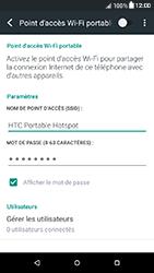 HTC Desire 650 - Internet et connexion - Partager votre connexion en Wi-Fi - Étape 14