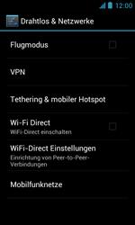 ZTE Blade III - Netzwerk - Manuelle Netzwerkwahl - Schritt 5