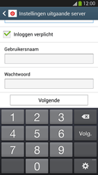 Samsung I9295 Galaxy S IV Active - E-mail - e-mail instellen: IMAP (aanbevolen) - Stap 13