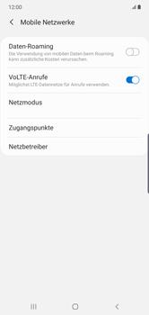 Samsung Galaxy Note 10 Plus 5G - Netzwerk - Manuelle Netzwerkwahl - Schritt 6