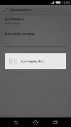 Sony Xperia Z2 - Netzwerk - Manuelle Netzwerkwahl - Schritt 7