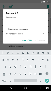 Huawei Nexus 6P - Android Oreo - Wifi - handmatig instellen - Stap 7