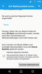 Sony E5823 Xperia Z5 Compact - Fehlerbehebung - Handy zurücksetzen - 1 / 1
