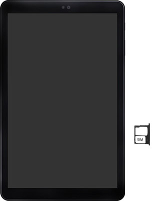 Samsung galaxy-tab-a-10-5-sm-t595-android-pie - Instellingen aanpassen - SIM-Kaart plaatsen - Stap 4