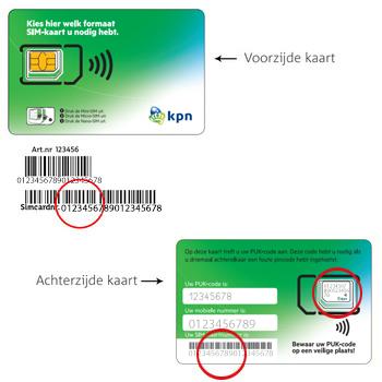Apple iPhone 5c met iOS 9 (Model A1507) - Nieuw KPN Mobiel-abonnement? - In gebruik nemen nieuwe SIM-kaart (bestaande klant) - Stap 4