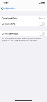 Apple iPhone 11 Pro - Netzwerk - So aktivieren Sie eine 4G-Verbindung - Schritt 5