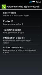 Alcatel OT-6012X Idol Mini - Messagerie vocale - Configuration manuelle - Étape 7