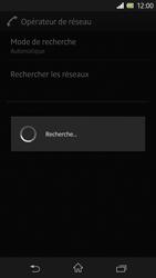Sony Xperia Z - Réseau - Sélection manuelle du réseau - Étape 8