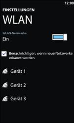 Nokia Lumia 800 - WLAN - Manuelle Konfiguration - 2 / 2