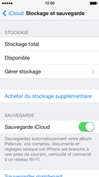 Apple iPhone 5 iOS 7 - Applications - Configuration du service iCloud d