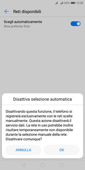 Huawei Y7 (2018) - Rete - Selezione manuale della rete - Fase 7