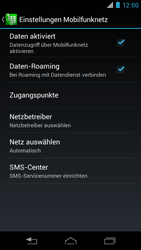Motorola XT890 RAZR i - Ausland - Im Ausland surfen – Datenroaming - Schritt 9