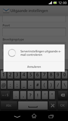 Sony C1905 Xperia M - E-mail - Handmatig instellen - Stap 16