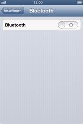 Apple iPhone 4S met iOS 6 (Model A1387) - Bluetooth - Headset, carkit verbinding - Stap 4