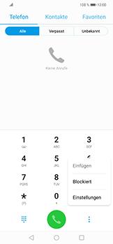 Huawei Nova 3 - Anrufe - Rufumleitungen setzen und löschen - Schritt 4