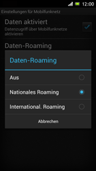 Sony Xperia J - Ausland - Im Ausland surfen – Datenroaming - Schritt 9