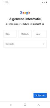 Samsung Galaxy A20e - apps - account instellen - stap 8