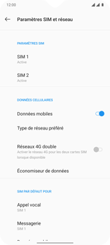 OnePlus 7T - Internet et connexion - Désactiver la connexion Internet - Étape 6