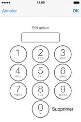 Apple iPhone 4 - Sécuriser votre mobile - Personnaliser le code PIN de votre carte SIM - Étape 7
