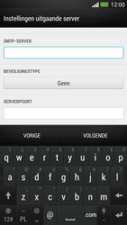 HTC One - E-mail - Account instellen (IMAP met SMTP-verificatie) - Stap 13