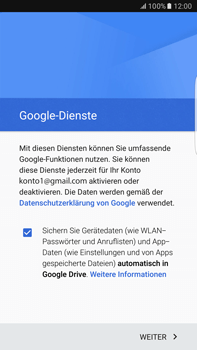Samsung Galaxy S6 edge+ - E-Mail - Konto einrichten (gmail) - 15 / 19