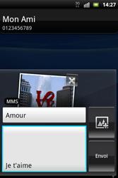 Sony Ericsson Xperia Mini Pro - MMS - envoi d'images - Étape 13
