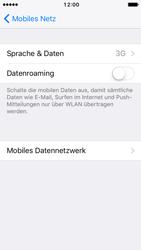 Apple iPhone SE - Netzwerk - Netzwerkeinstellungen ändern - 5 / 7