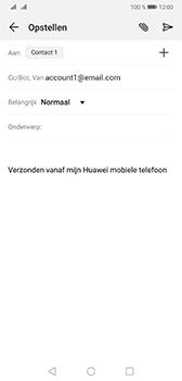 Huawei Mate 20 - E-mail - e-mail versturen - Stap 6