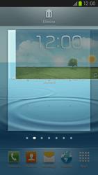 Samsung Galaxy S III LTE - Operazioni iniziali - Installazione di widget e applicazioni nella schermata iniziale - Fase 6
