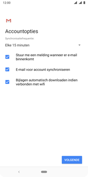 Nokia 9 - E-mail - e-mail instellen (outlook) - Stap 10