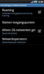 Samsung I9000 Galaxy S - Buitenland - Bellen, sms en internet - Stap 7