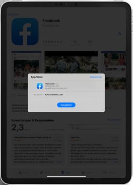 Apple iPad Mini 4 - ipados 13 - Apps - Einrichten des App Stores - Schritt 24