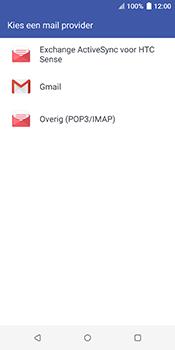 HTC u12-plus - E-mail - Handmatig Instellen - Stap 5