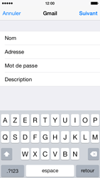 Apple iPhone 5 iOS 8 - E-mail - Configuration manuelle (gmail) - Étape 8