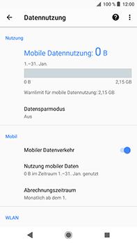 Sony Xperia XZ2 Premium - Internet - Manuelle Konfiguration - Schritt 7