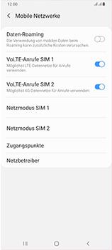 Samsung Galaxy A70 - Netzwerk - Manuelle Netzwerkwahl - Schritt 6