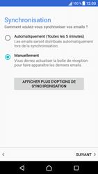 Sony Xperia X - E-mails - Ajouter ou modifier un compte e-mail - Étape 20