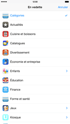 Apple iPhone 6 Plus - iOS 8 - Applications - Installation d
