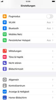 Apple iPhone 8 Plus - iOS 14 - WiFi - So aktivieren Sie einen WLAN-Hotspot - Schritt 3
