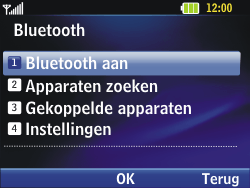 LG C320 InTouch Lady - bluetooth - aanzetten - stap 6