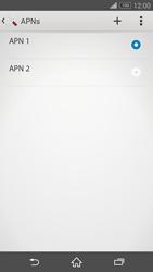 Sony D5803 Xperia Z3 Compact - Internet - Manuelle Konfiguration - Schritt 17