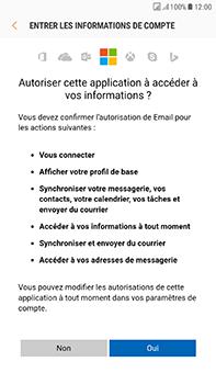 Samsung Galaxy J7 (2017) - E-mail - Configuration manuelle (outlook) - Étape 8