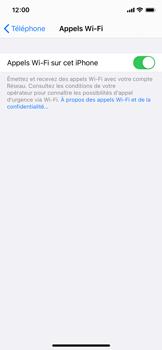 Apple iPhone 11 Pro - iOS 14 - WiFi - Activez WiFi Calling - Étape 8