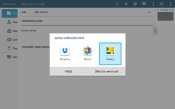 Samsung T535 Galaxy Tab 4 10-1 - E-mail - Bericht met attachment versturen - Stap 13