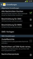 Samsung I9505 Galaxy S4 LTE - SMS - Manuelle Konfiguration - Schritt 8